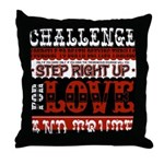 Love Challenge Throw Pillow