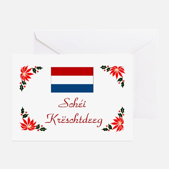 Luxembourg-Schei... Greeting Cards (Pk of 10)
