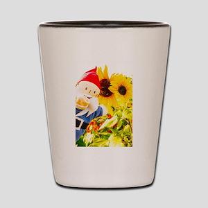 Sunflower Gus Shot Glass