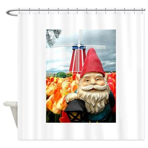 Cute Gnome Shower Curtains