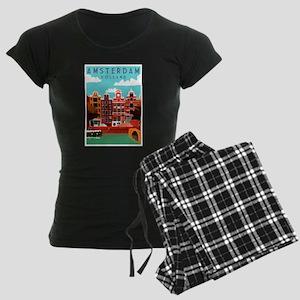 Amsterdam Holland Travel Pajamas