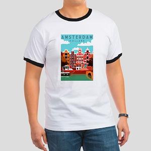 Amsterdam Holland Travel T-Shirt