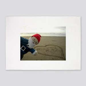 Marry Me Gnome 5'x7'Area Rug