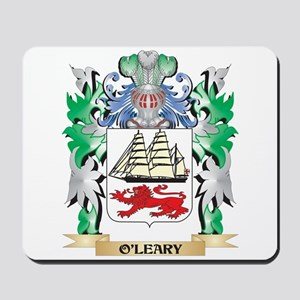 O'Leary Coat of Arms - Family Crest Mousepad
