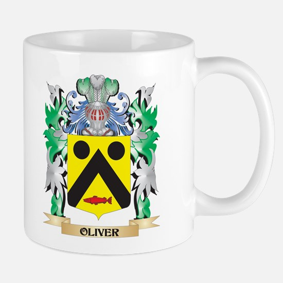 Oliver- Coat of Arms - Family Crest Mugs