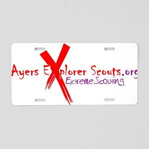 Ayers ESU Aluminum License Plate