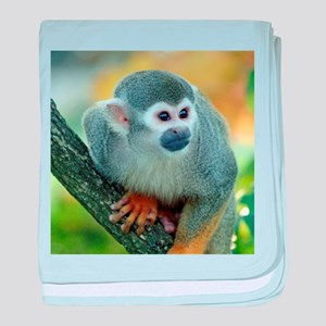Monkey004 baby blanket