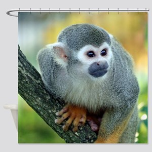 Monkey004 Shower Curtain