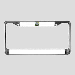 Monkey004 License Plate Frame