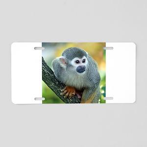 Monkey004 Aluminum License Plate