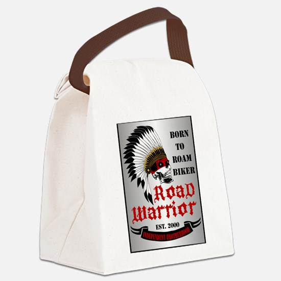 Road Warrior Canvas Lunch Bag