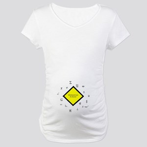 Math Maternity T-Shirt
