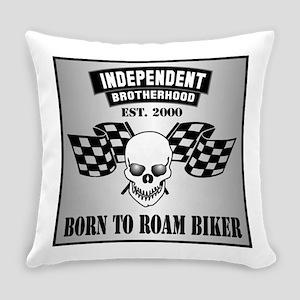 Born To Roam Racing Everyday Pillow