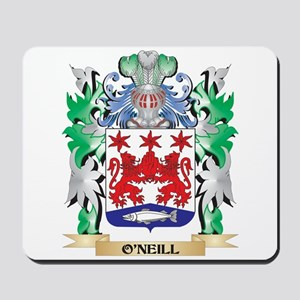 O'Neill Coat of Arms - Family Crest Mousepad
