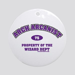 Arch Arcanist Ornament (Round)