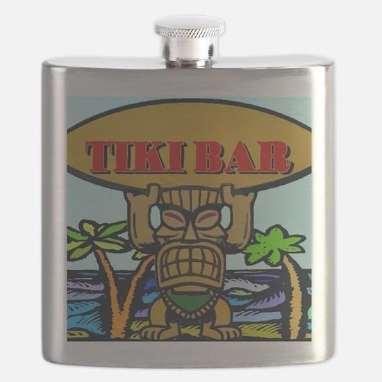 Cute Tiki Flask