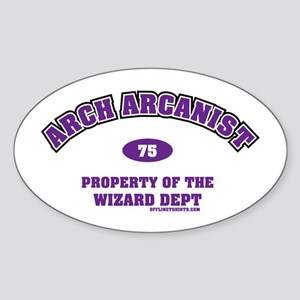 Arch Arcanist Oval Sticker