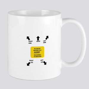 in case of accident Mugs