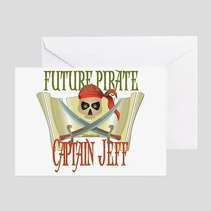 Captain Jeff Greeting Card
