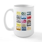 Mixtapes Color Cassette Large Mug