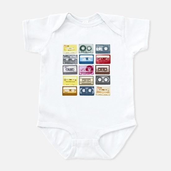 Mixtapes Color Cassette Infant Bodysuit