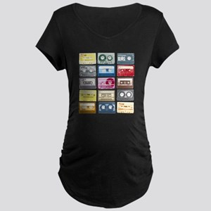 Designer Mixtape Maternity Dark T-Shirt