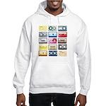 Mixtapes Color Cassette Hooded Sweatshirt