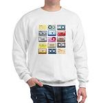 Mixtapes Color Cassette Sweatshirt