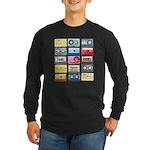 Designer Mixtape Long Sleeve Dark T-Shirt