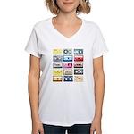 Designer Mixtape Women's V-Neck T-Shirt
