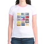 Mixtapes Color Cassette Jr. Ringer T-Shirt