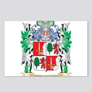 O'Riordan Coat of Arms - Postcards (Package of 8)