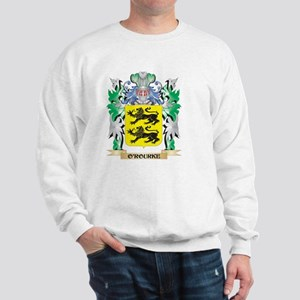 O'Rourke Coat of Arms - Family Crest Sweatshirt