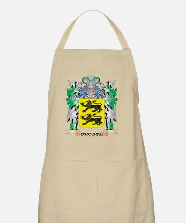 O'Rourke Coat of Arms - Family Crest Apron