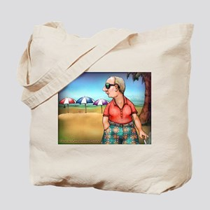 Pants de Leon Discovers Florida Tote Bag