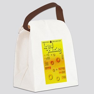 Logical Fallacies Canvas Lunch Bag