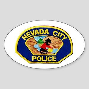 Nevada City Police Sticker