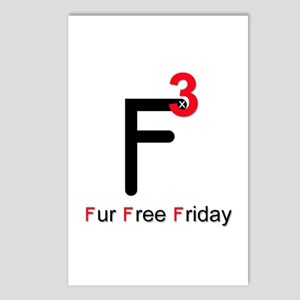 Fur Free Friday Postcards (Package of 8)