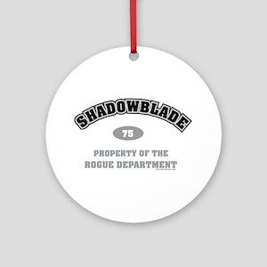 Shadowblade Ornament (Round)