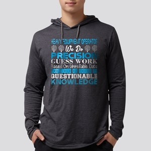 Heavy Equip Operator Precision Long Sleeve T-Shirt