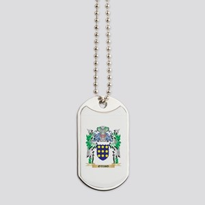Otero Coat of Arms - Family Crest Dog Tags