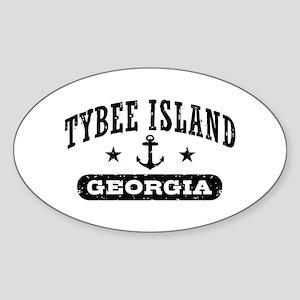 Tybee Island Sticker (Oval)