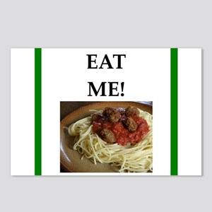 funny meat joke Postcards (Package of 8)