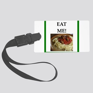 funny meat joke Luggage Tag