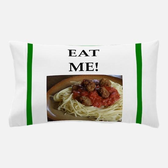 funny meat joke Pillow Case