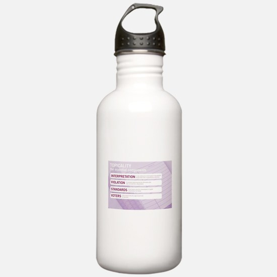 Topicality Water Bottle