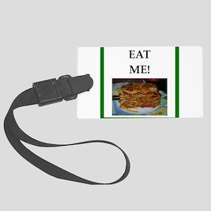 lasagna Luggage Tag