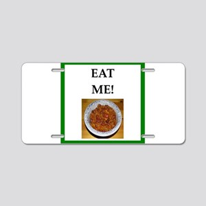 chili Aluminum License Plate