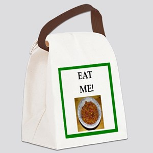 chili Canvas Lunch Bag