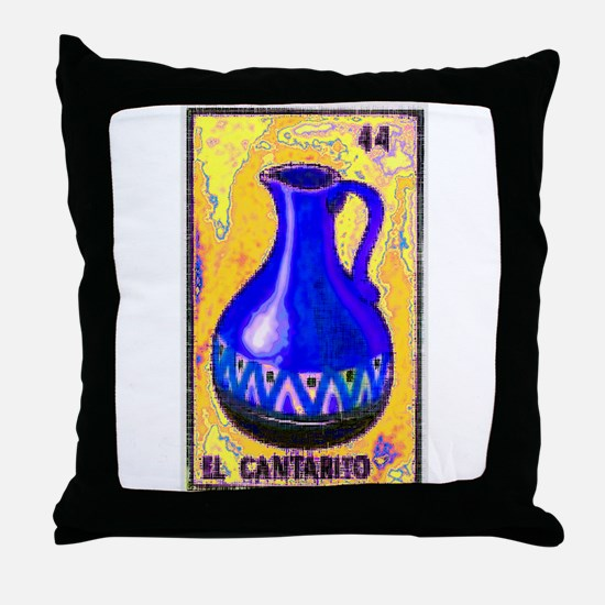 El Cantarito Throw Pillow